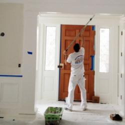 Matiniai lėtai džiūstantys dažai luboms