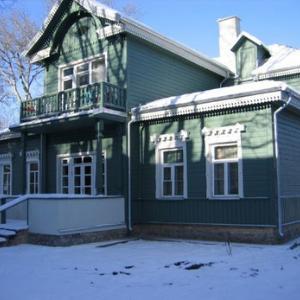 Dažai mediniam namui