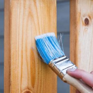 Antiseptikas gruntas prieš medienos dažymą