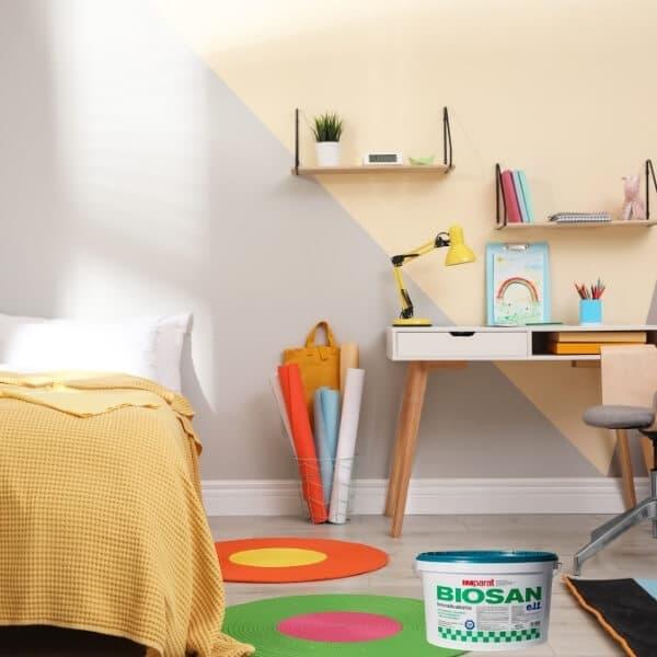 Antialerginiai dazai vaiko kambariui sienoms luboms