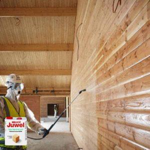 Antiseptikas medienai grunta sprieš dažymą