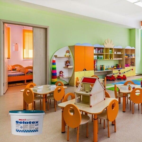 Atsparūs dažai vaikų kambariui darželiams
