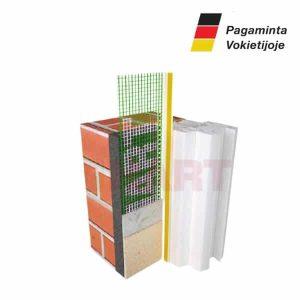 Deformacinis lango rėmo apsaugos profilis fasadui