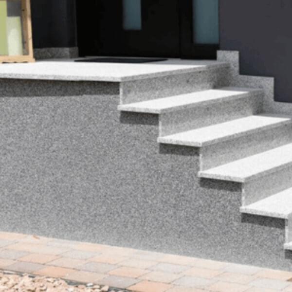Dekoratyvinis tinkas pamatui cokoliui fundamentui laiptams