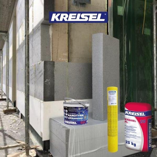 KREISEL Fasado šiltinimo statybinės medžiagos