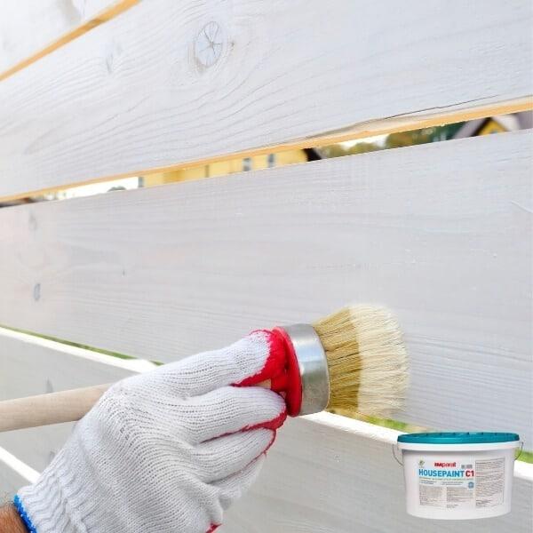 Kokybiški Dažai mediniai tvorai dažyti imparat
