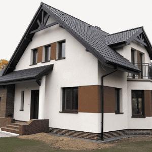 Silikoninis tinkas fasadui namui HART