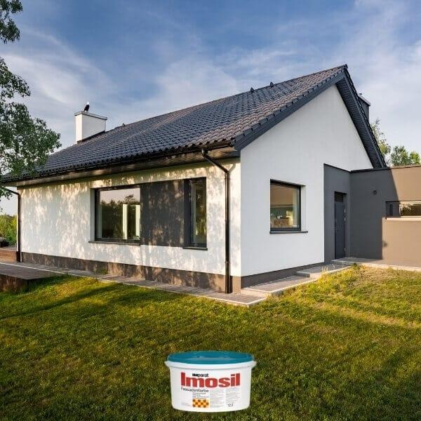 Vokiški Imparat Imosil dažai namo fasadui