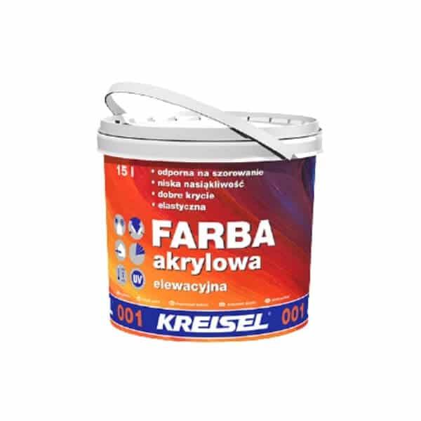 KREISEL Akriliniai dažai fasadui namui 001