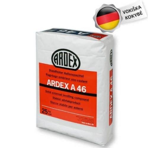 Ardex A46 tinkas betono laiptų cokolio rampos fasado balkonų remontui